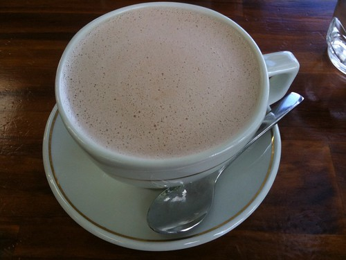Large Belgian Hot Chocolate ($5)