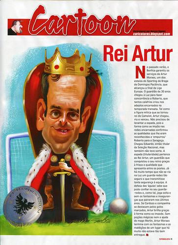 Rei-Artur by caricaturas