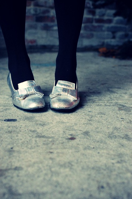 shiny shoes