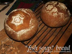 """fish soup"" bread"
