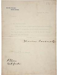 roosevelt coinage letter