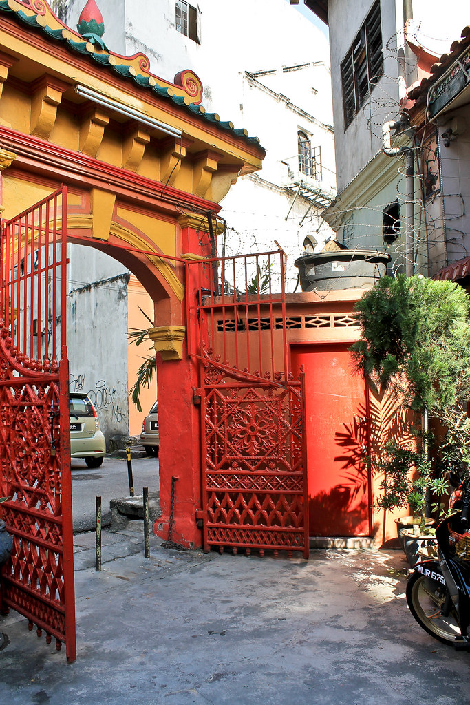 Red Gate at Taoist temple