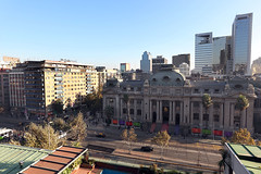 View from Caesar Business Hotel, Santiago