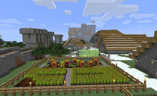 The Village in Minecraft