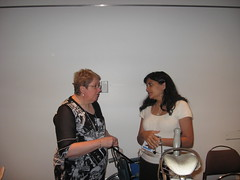 Anne Hawker and Shantha Rau-Barriga