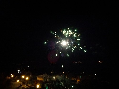 Firework for New Year's Eve