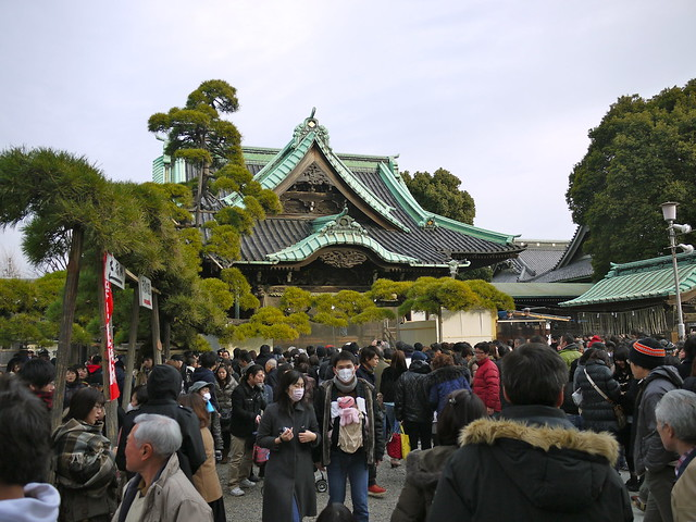 Hatsumoude, New Year's Visits to Temple
