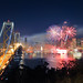 San Francisco New Years Fireworks - Happy New Year 2012 by Darvin Atkeson