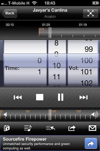 Öreg vasból távirányítható zenelejátszó Ubuntu-val #15