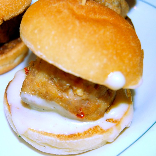 Spicy Pork Meatball Slider