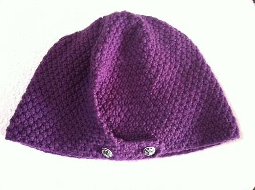 Seed Stitch Hat by Garyou