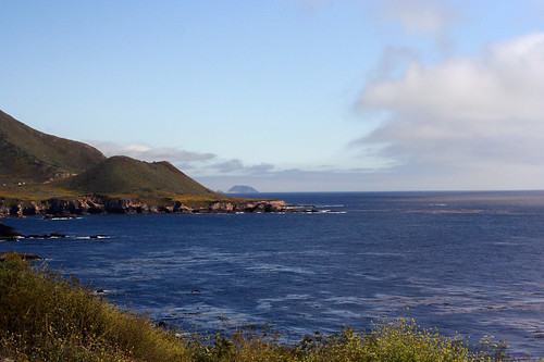 A view from Highway 1, California - July 2011