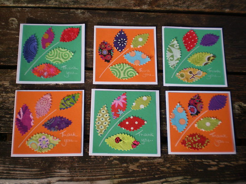 cards made from pattern at mmmcrafts
