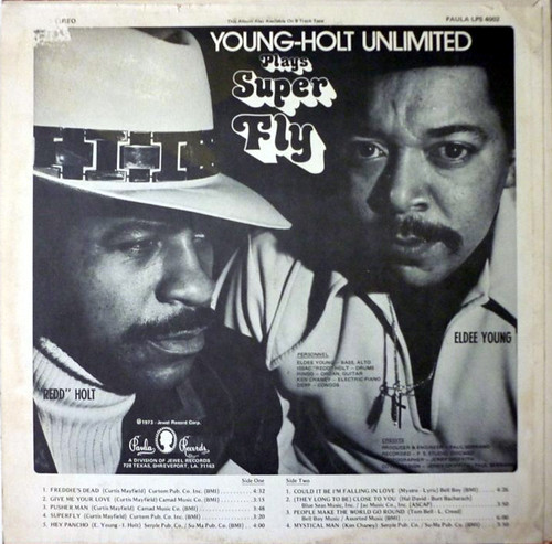 Young-Holt Unlimited – Plays Super Fly - back