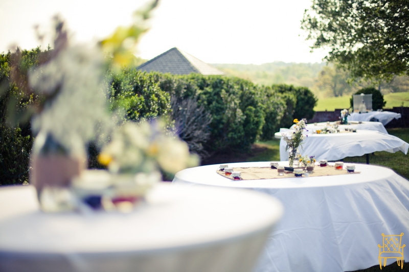 gray and yellow outdoor vintage wedding_043
