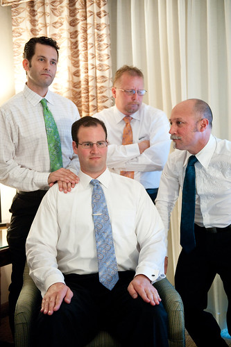 Awkward Groomsmen Photo