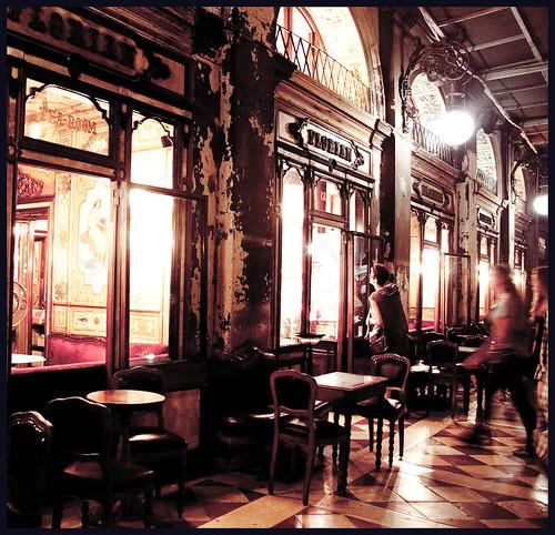 café  Florian Venice by hans van egdom