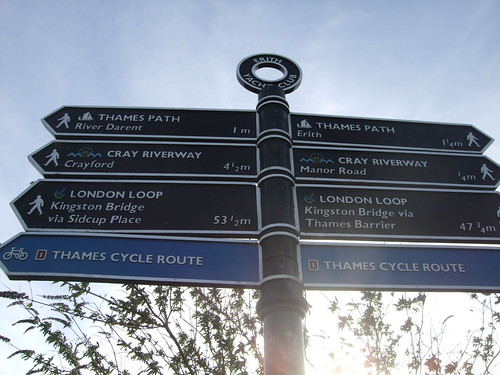 All the routes!  One of them is the LOOP.