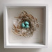 3-D Nest 25, framed