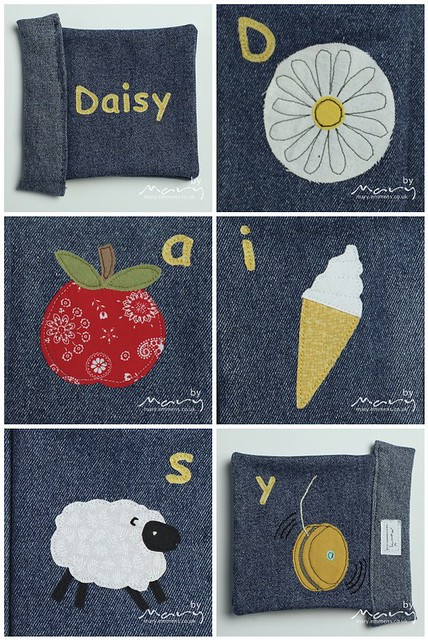 Mosaic of soft book for Daisy