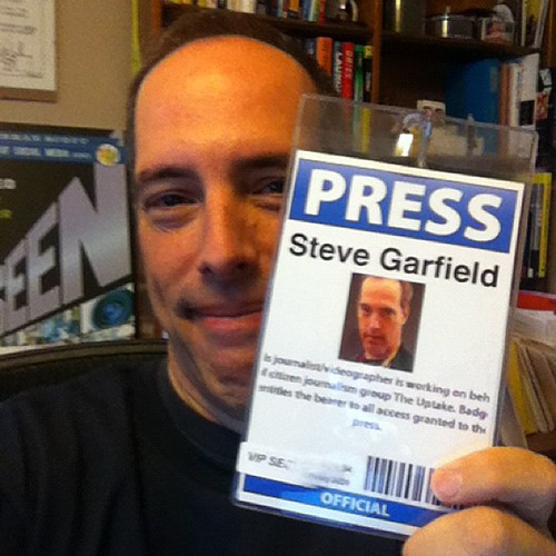 Press! by stevegarfield