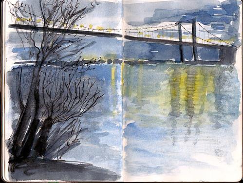 Pont d' Aquitaine, Bordeaux