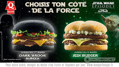 Star Wars Hamburguesas