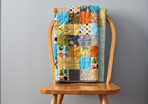 Boy patchwork quilt