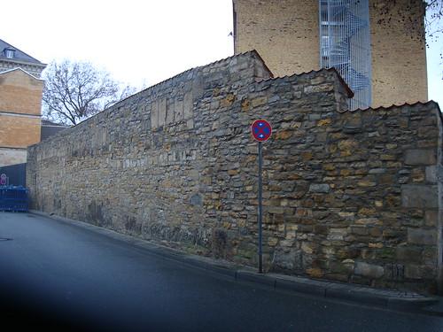 JVA -historische Mauer