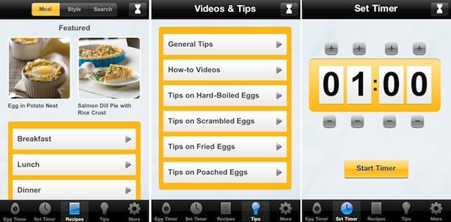 Egg Timer App