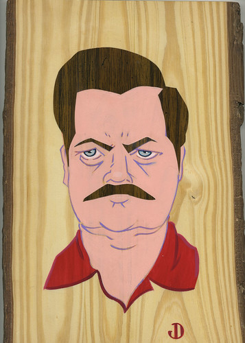 Ron Swanson complete. by Jason Dryg