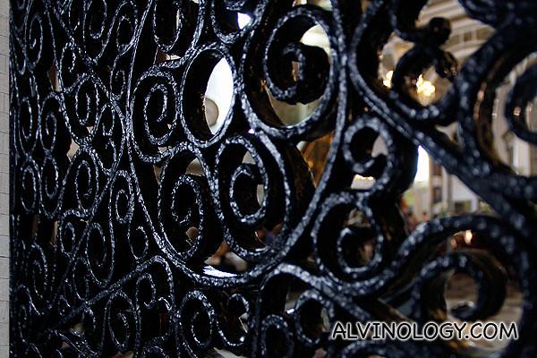 Patterned grilles