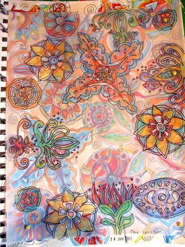 tile doodle