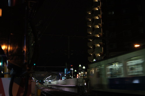 江古田駅ホーム