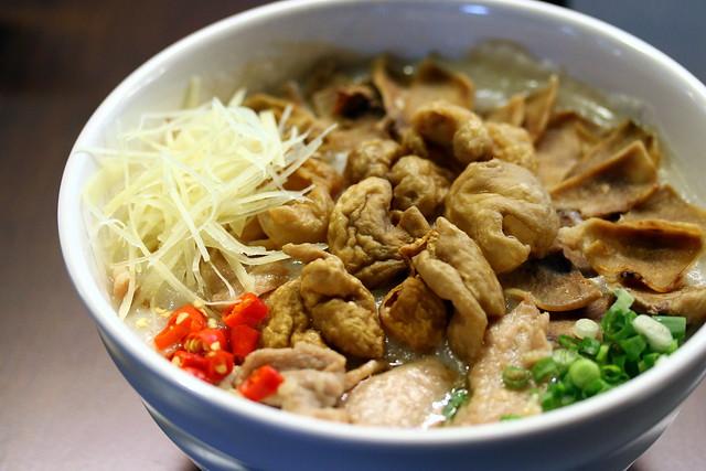 Malaysian Food Street: Petaling Street Famous Porridge since 1949