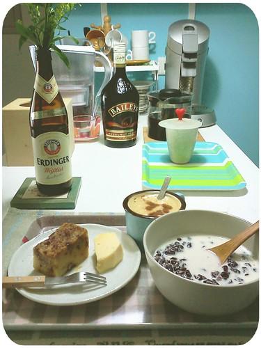 2012.1.17 ::: 早餐-2 (因為太喜歡今天的早餐,所以多拍了幾張) by 南南風_e l a i n e