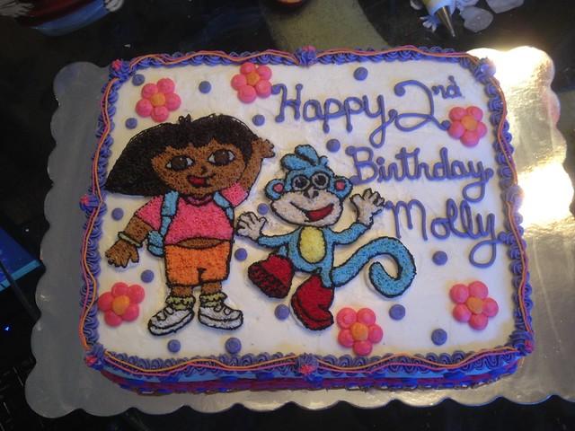 Dora Cake Recipe In English: Dora And Boots Birthday Cake