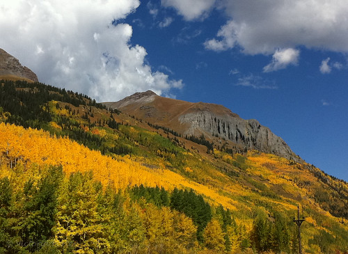 Believe it... this is an iPhone capture! Colorado's fall splendor... by toryporter (back... FAR behind!)