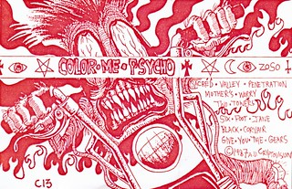 Color Me Psycho (cassette cover, 1987)