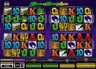Megaspin Break Da Bank Again slot game online review