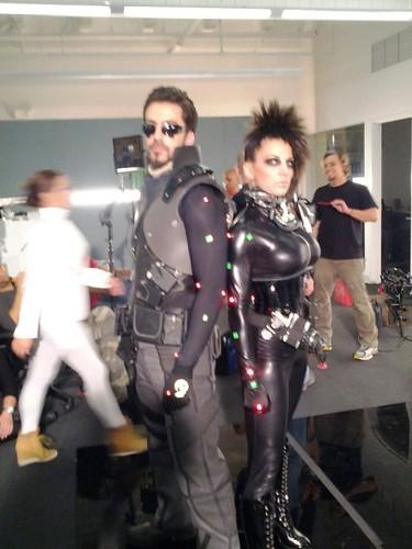 Deus Ex Adam Jensen Costume