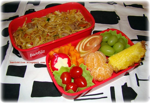 Ginger & Sweet Chili Turkey Bento
