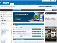 Nordic Bet Sports Lobby
