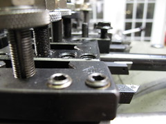 Row of tool holders
