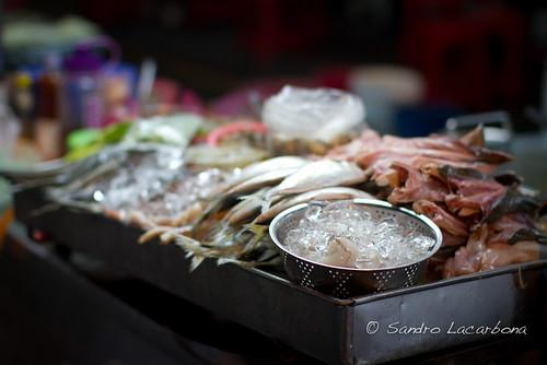 Street fish shop