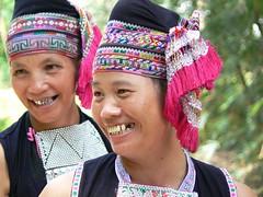 Dai minority women (Xingping, China 2006)