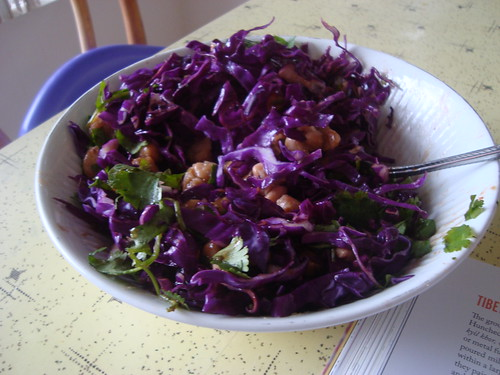 cabbage bean slaw