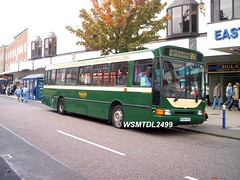 20654 R654 HCD Volvo B10M-55 Northern Counties Paladin. Arndale EASTBOURNE 1