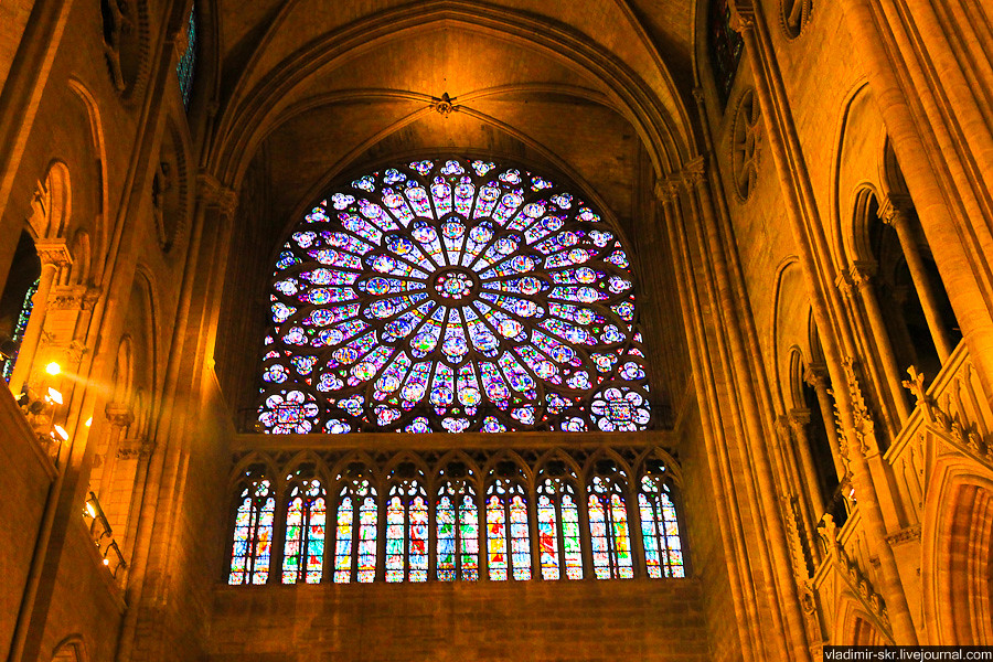 Rose window of Notre-Dame de Paris
