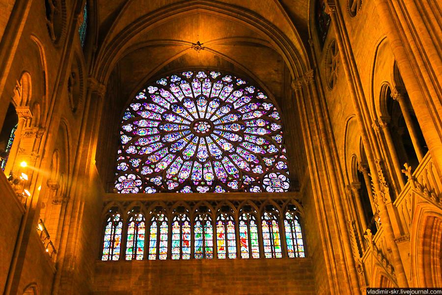 Rose window of Notre-Dame de Paris